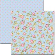 Papel scrap - Flores Miúdas 7 - Arte Fácil (SC-350)