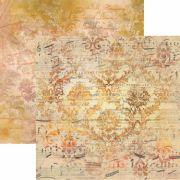 Papel Scrap - Partitura - Arte Fácil (SC-407)