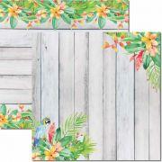 SC-450 - Papel Scrap - Verão Tropical 4 - Arte Fácil