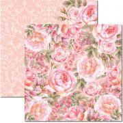Papel Scrap - Rose e Mint 5 - Arte Fácil (SC-471)