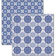 Papel scrap - Azulejo Português 8 - Arte Fácil (SC-480)