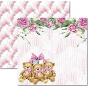 Papel Scrap - My Baby Girl 2 - Arte Fácil (SC-497)