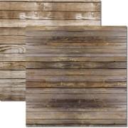 Papel Scrap - Textura - Madeira 2 - Arte Fácil (SC-509)
