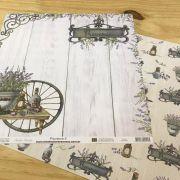 Papel Scrap - Provence 5 - Arte Fácil (SC-544)