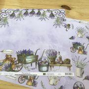 Papel Scrap - Provence 8 - Arte Fácil (SC-547)