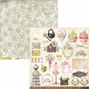 Papel Scrap - Coleção Sewing - Carina Sartor (SEW04)