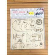 Recortes MDF - Travel Girl - Dany Peres (TG01)