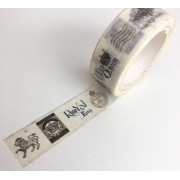 Washi Tape Queen and King (washi43)