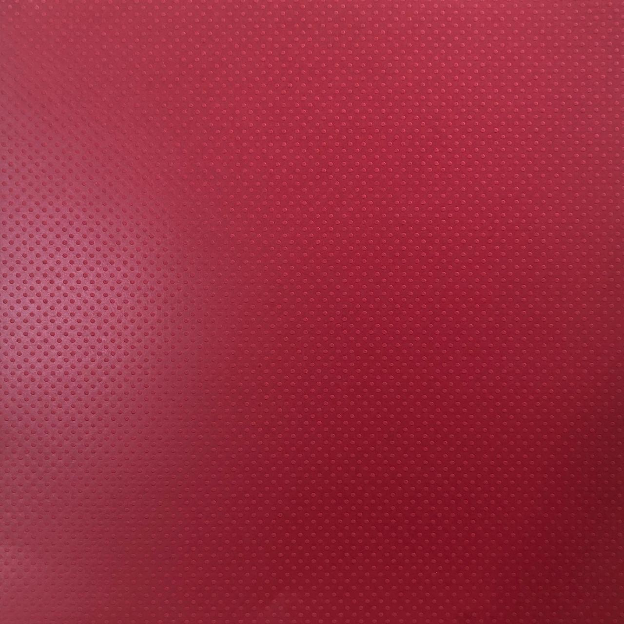 Papel Scrap Cardstock - Bolinhas II Vermelho (Phoenix) (303197)