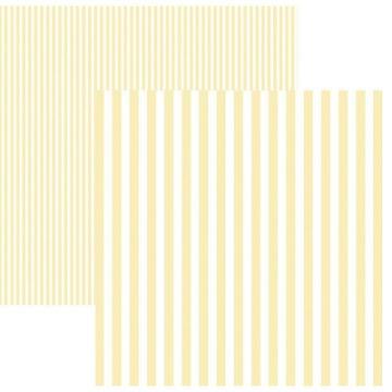 Papel Scrap - Listras Marfim (KFSB439) - Toke e Crie (19980)