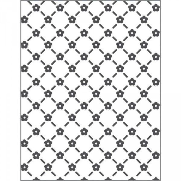 Placa para Relevo 2D - Mini Flores - Toke e Crie (21801)