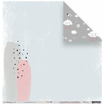 22033 - Papel Scrap - Sementinha do Amor - Coleção Meu Coração é Seu - Juju Scrapbook