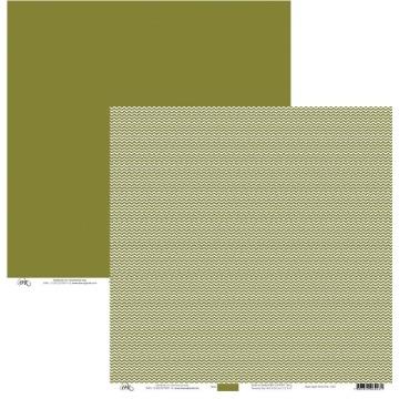5022 - ZIGUE-ZAGUE VERDE OLIVA - OK SCRAPBOOK