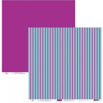 7275 - LISTRA ROSA PURPURA E VERDE AGUA - OK SCRAPBOOK