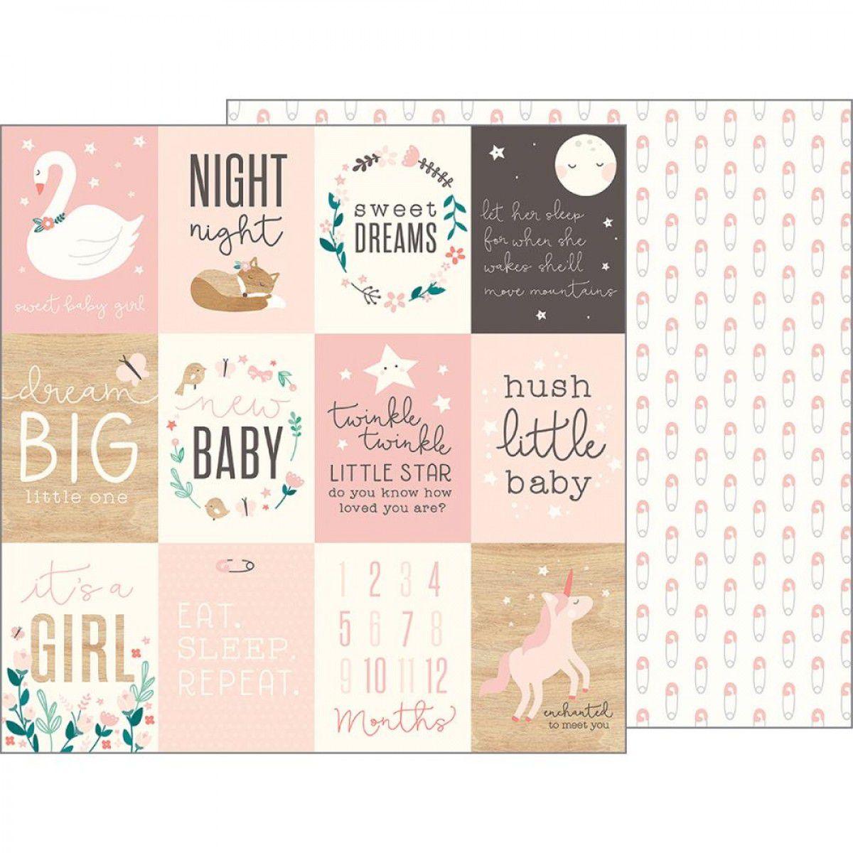 732645 - NIGHT NIGHT - SWEET BABY GIRL - PEBBLES
