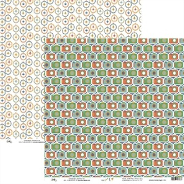 Papel Scrap - Câmeras e Bússolas Viagem - Ok Scrapbook (9513)