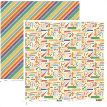 9519 - Setas e Listras Diagonais Viagem - Ok Scrapbook