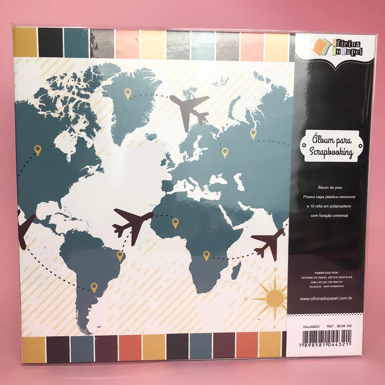 Álbum G - Viajando - Oficina do Papel (0604102)