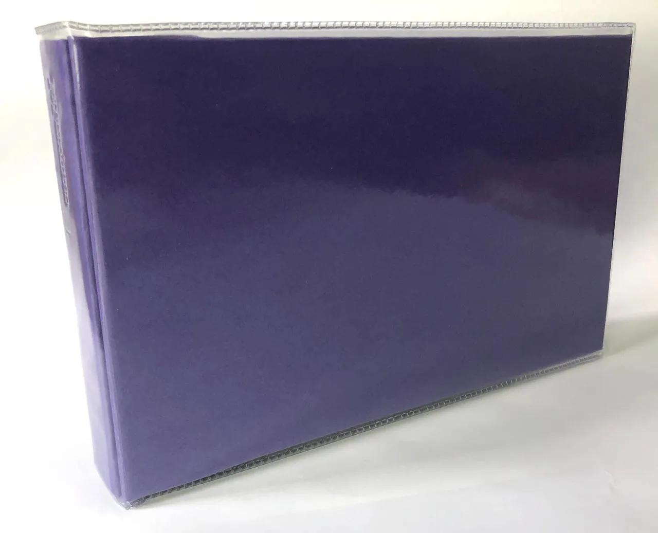 Álbum miolo plástico para 36 fotos 10 x 15 cm - Roxo - Paperchase (2223-R)