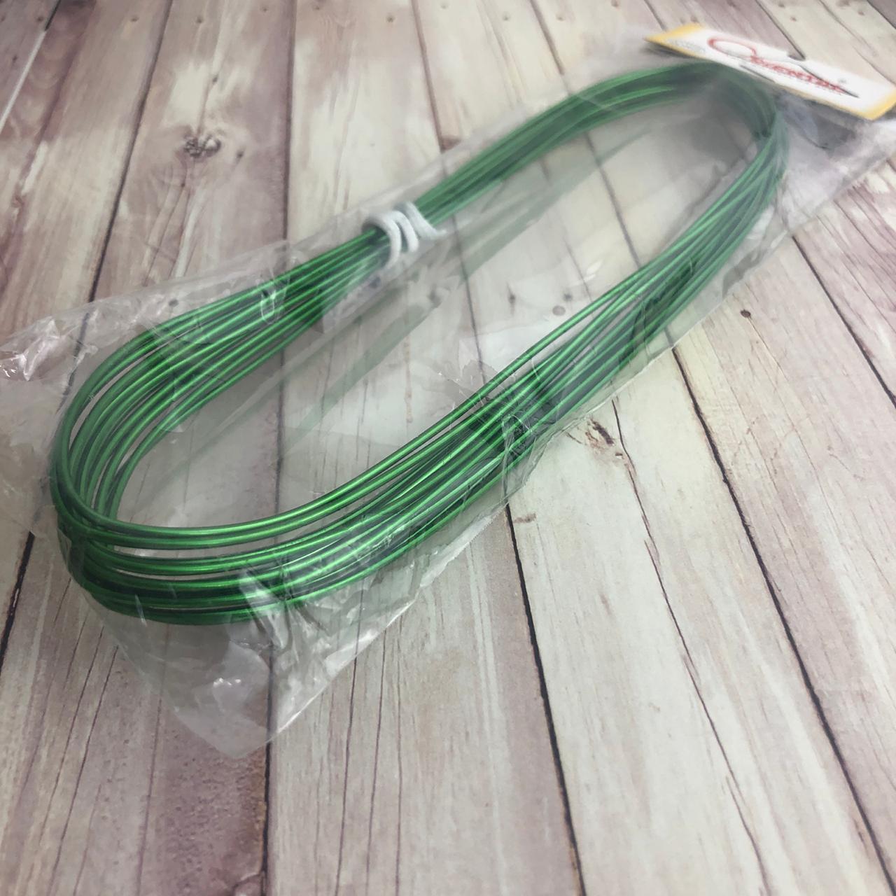 Arame Art Clean - 5 metros - Verde - Oriental (AR02)
