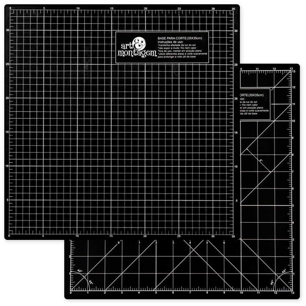Base de Corte Scrap 350 x 350 mm - Art e Montagem (BC01)