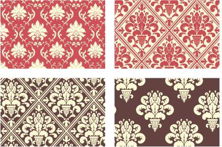 BL-001 - Bloco de Papéis Coordenados - Bordô e Marfim - Arte Fácil