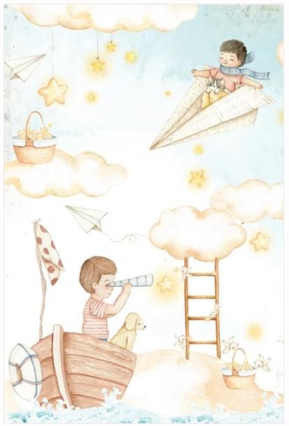 Bloco A4 Coleção Pequenos Desbravadores - Dany Peres (DP-PD-07)