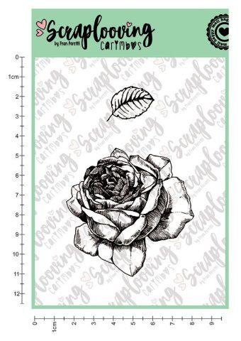 Carimbo Cartela Floral 02 - Scraplooving (C151)