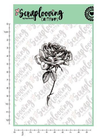 Carimbo Cartela Floral 04 - Scraplooving (C152)