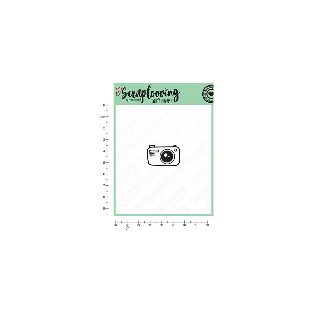 Carimbo Câmera - Scraplooving (C171)