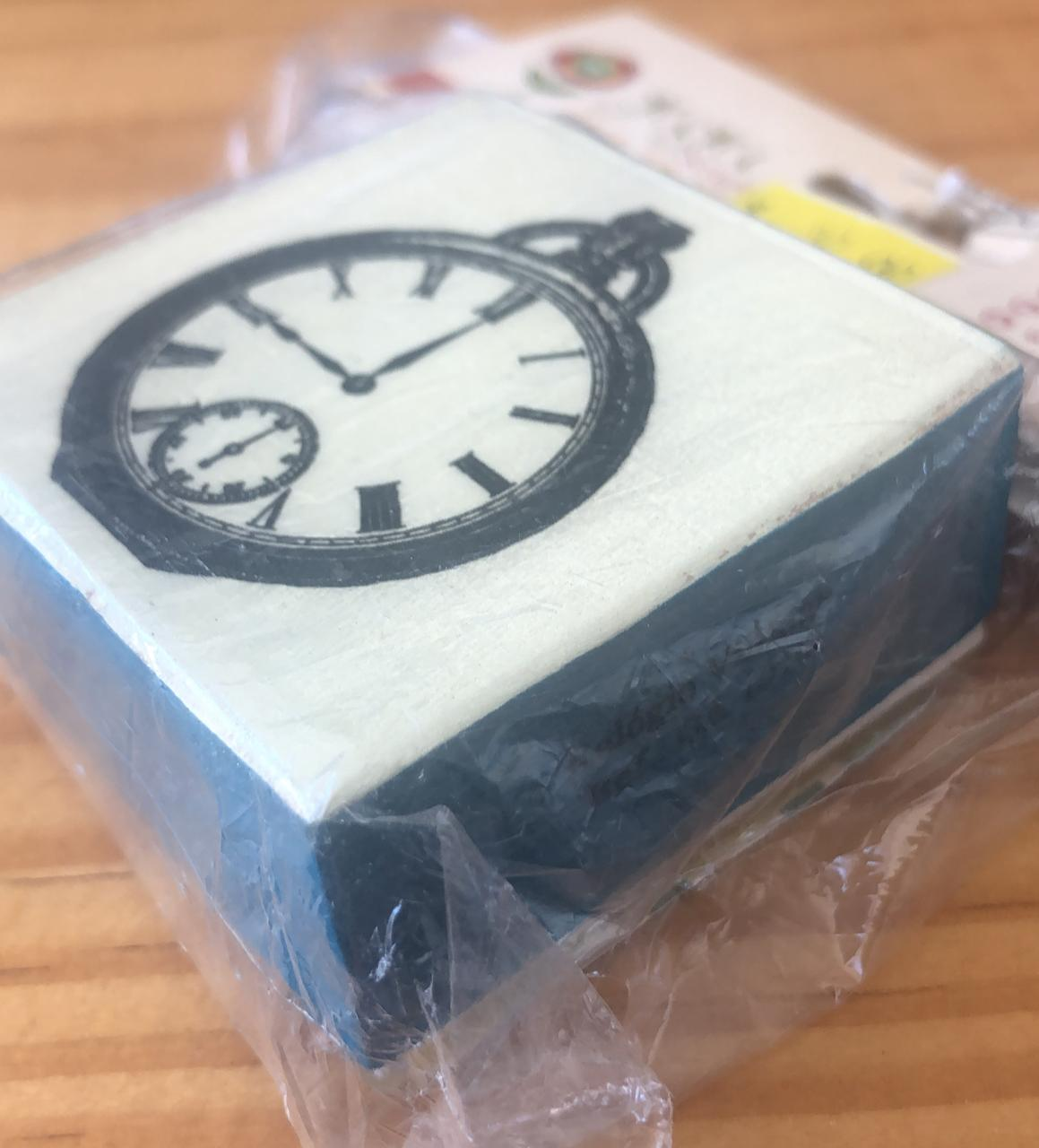 Carimbo Relógio Vintage - Juju Scrapbook (CA1010)