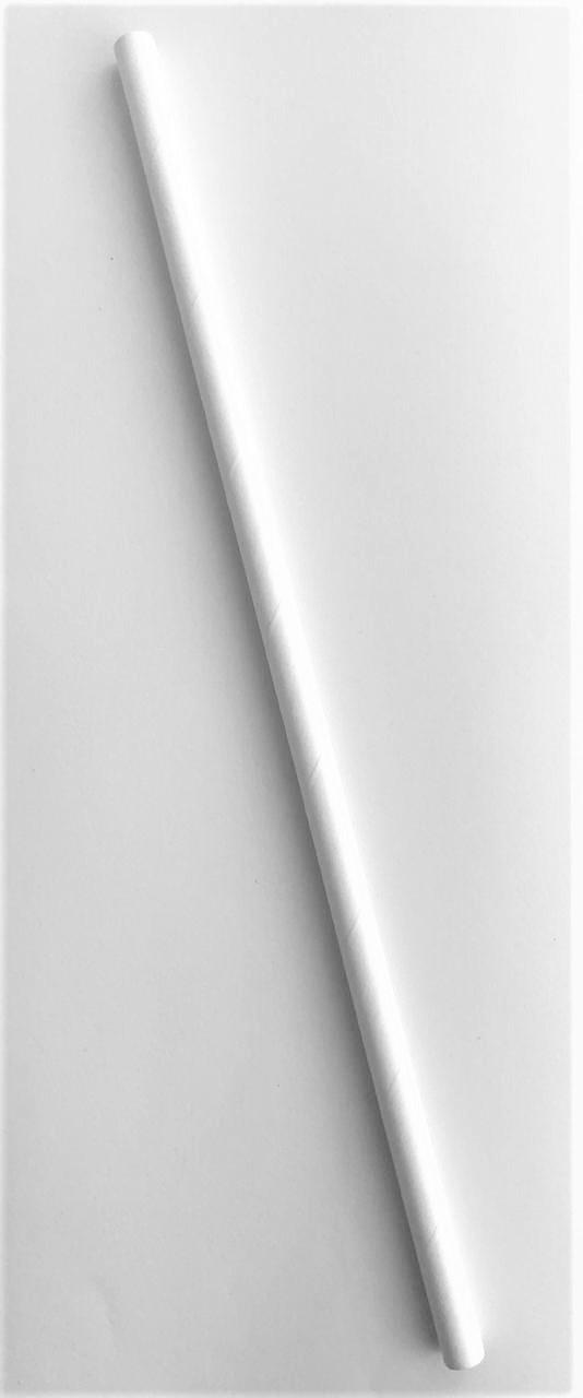 Canudo de papel - branco (CP-13)
