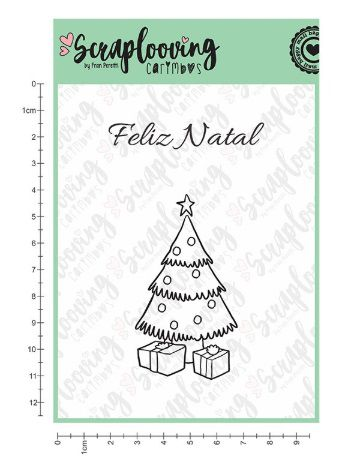 Cartela Carimbo Feliz Natal 02 (C19) - Scraplooving