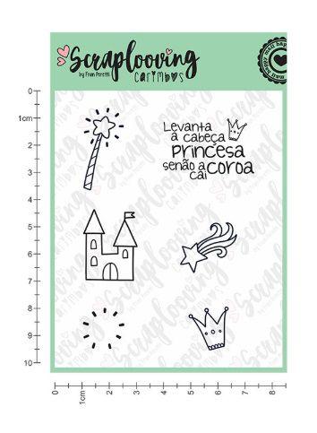 Carimbo Princesa - Scraplooving (C113)