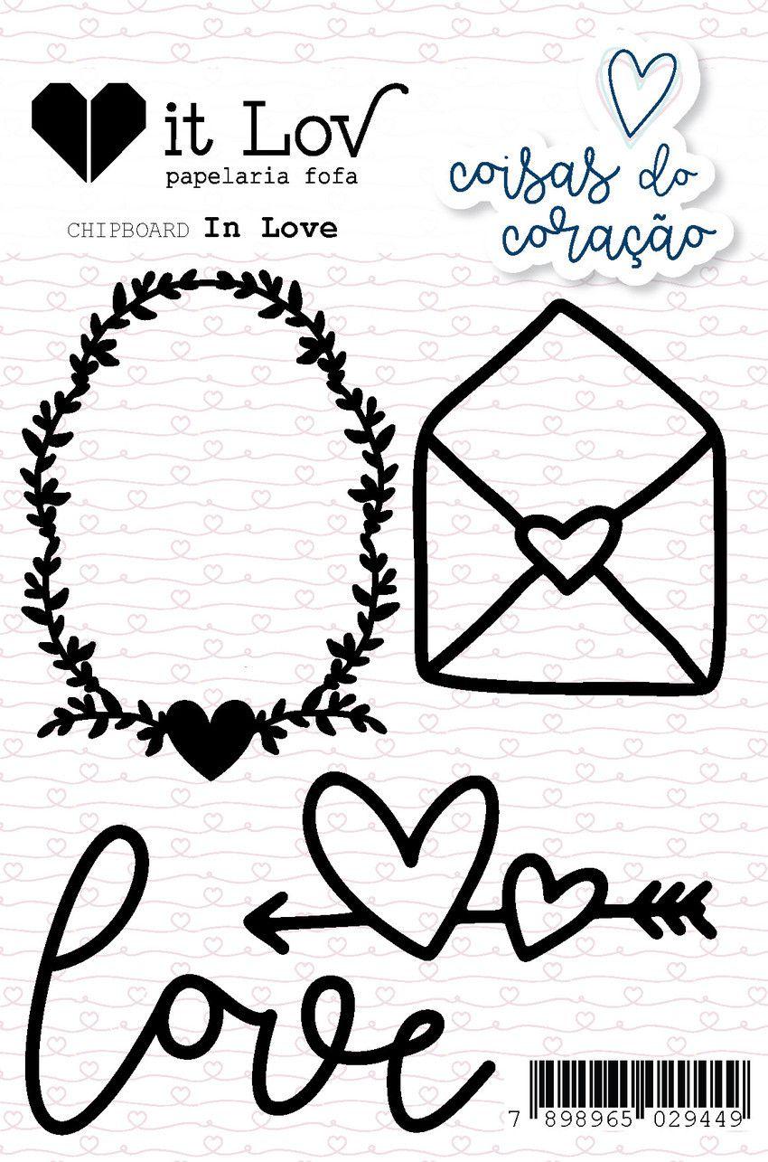 Chipboard In Love - Coleção Coisas do Coração - It Lov (CIL006)