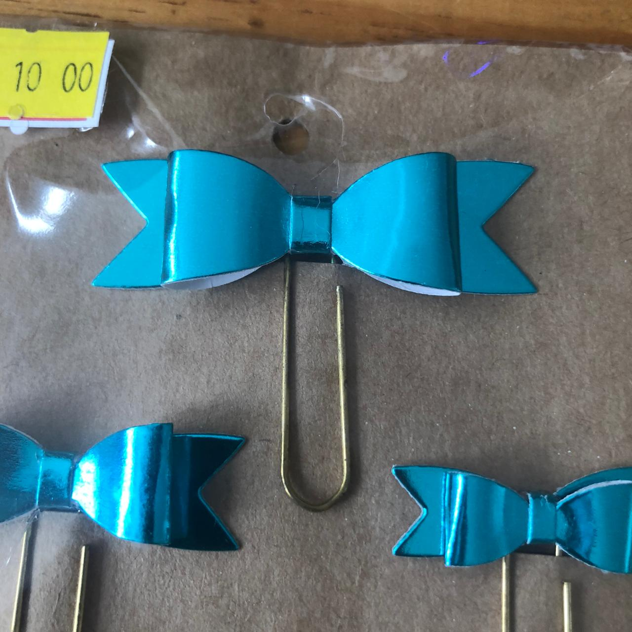Clips Laço Lamicote Azul (CP001)
