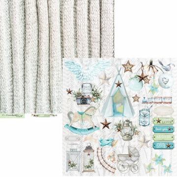 Kit Papéis Coleção Little Star - Carina Sartor