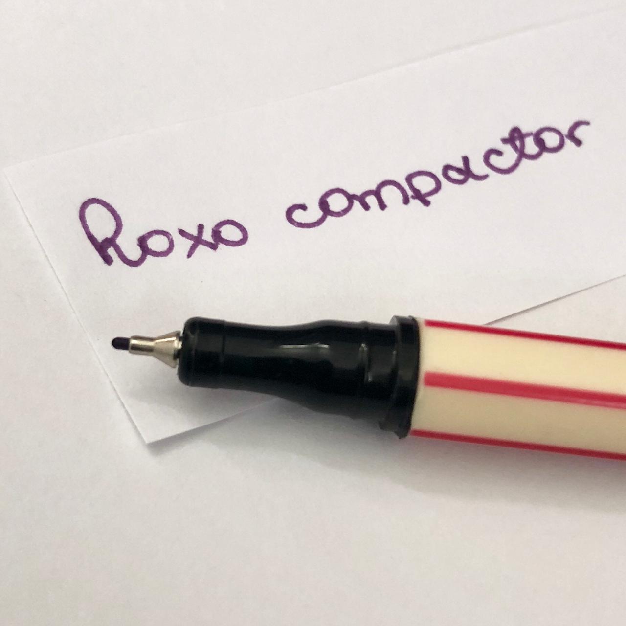 Caneta Compactor 0,4 - Roxo (COMP04)