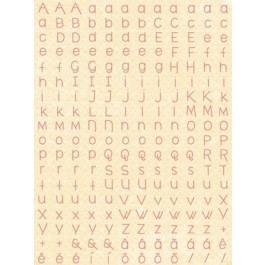 Adesivos Letrinhas Amarelo - Coleção Abraço de Urso by Estúdio 812 - Juju Scrapbook (22313)