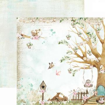 Papel Scrap - Vale dos Sonhos - Coleção Dreamland - Dany Peres (DP-DL-01)