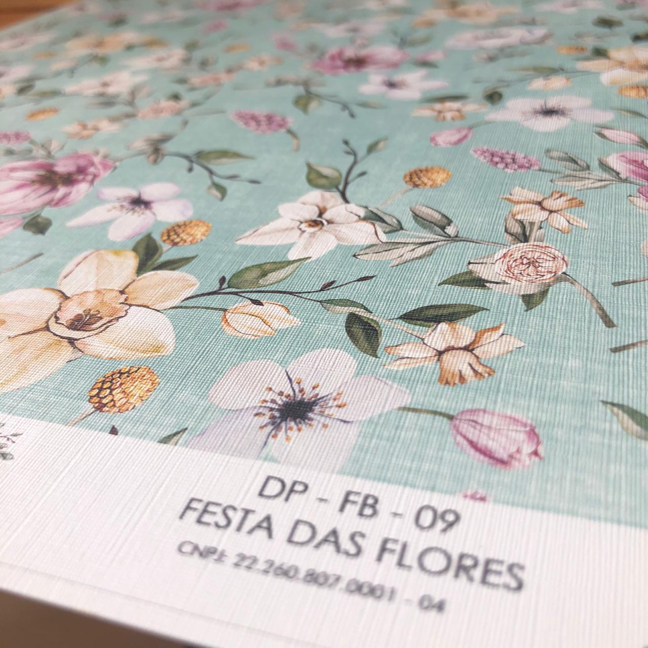 Adesivo Texturizado - Festa das Flores - Coleção Fábula - Dany Peres (DP-FB-09)