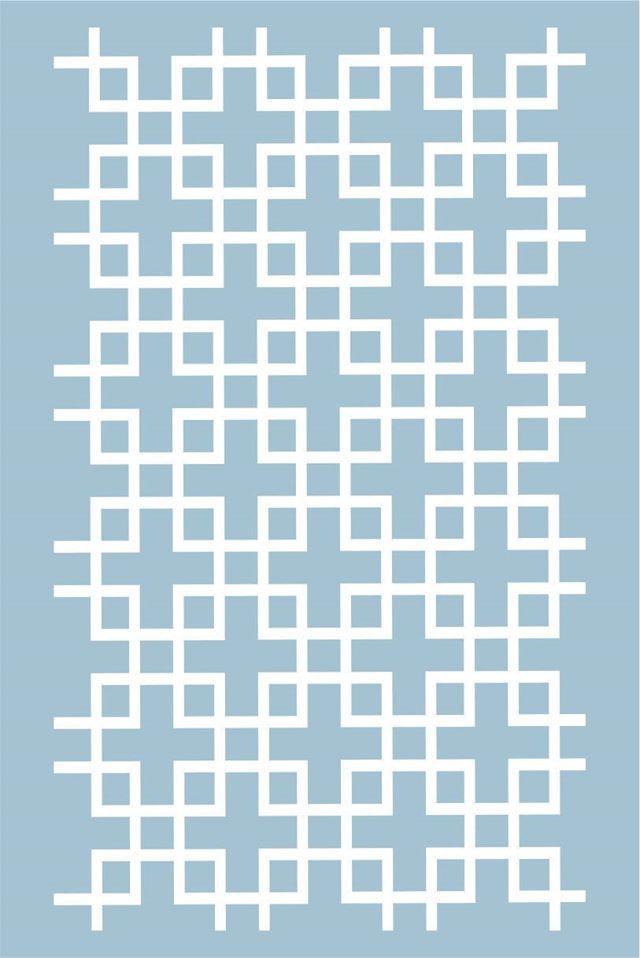 DP-FB-12 - Placa para Stencil Cobogo - Coleção Fábula - Dany Peres
