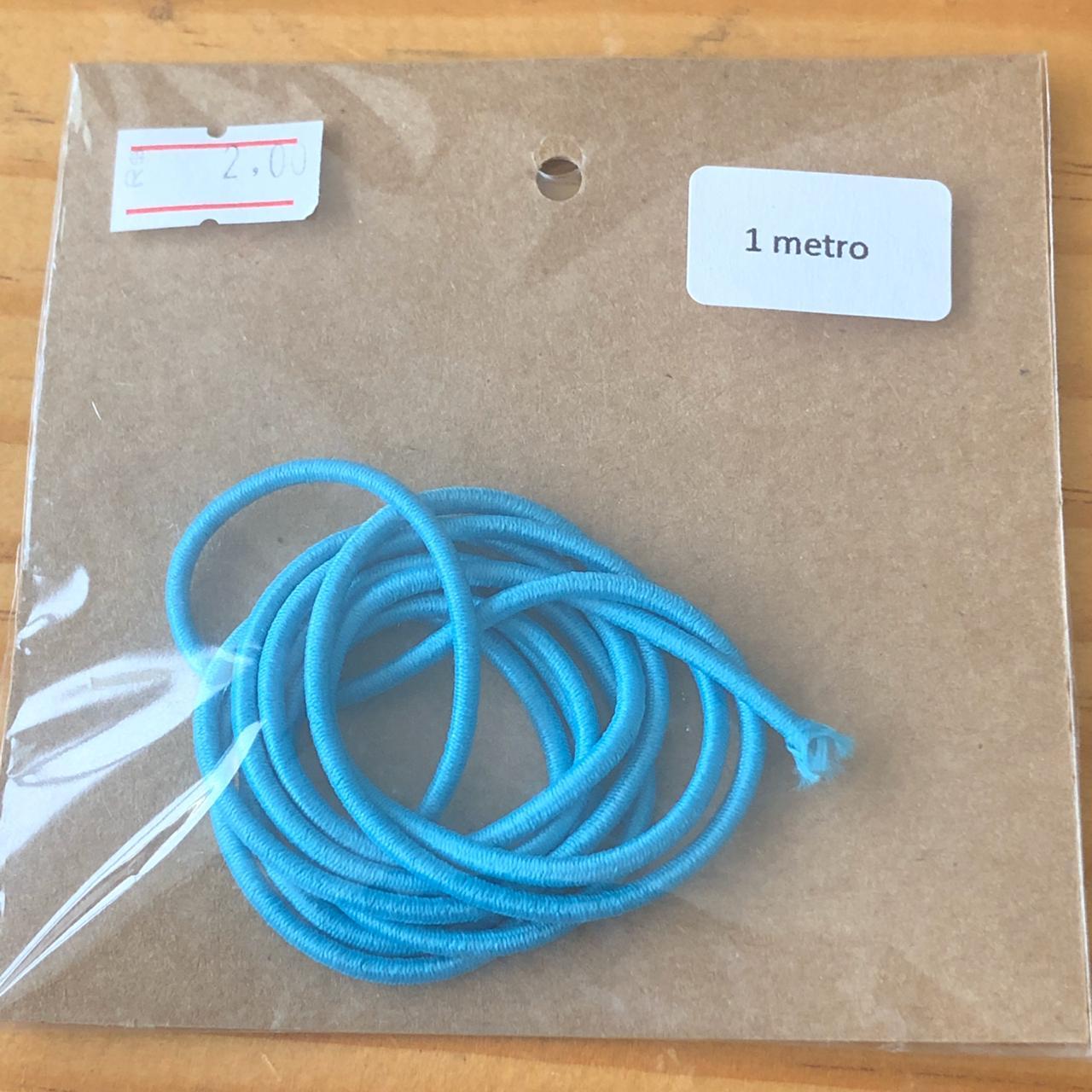 Elástico roliço - Azul (EC005)