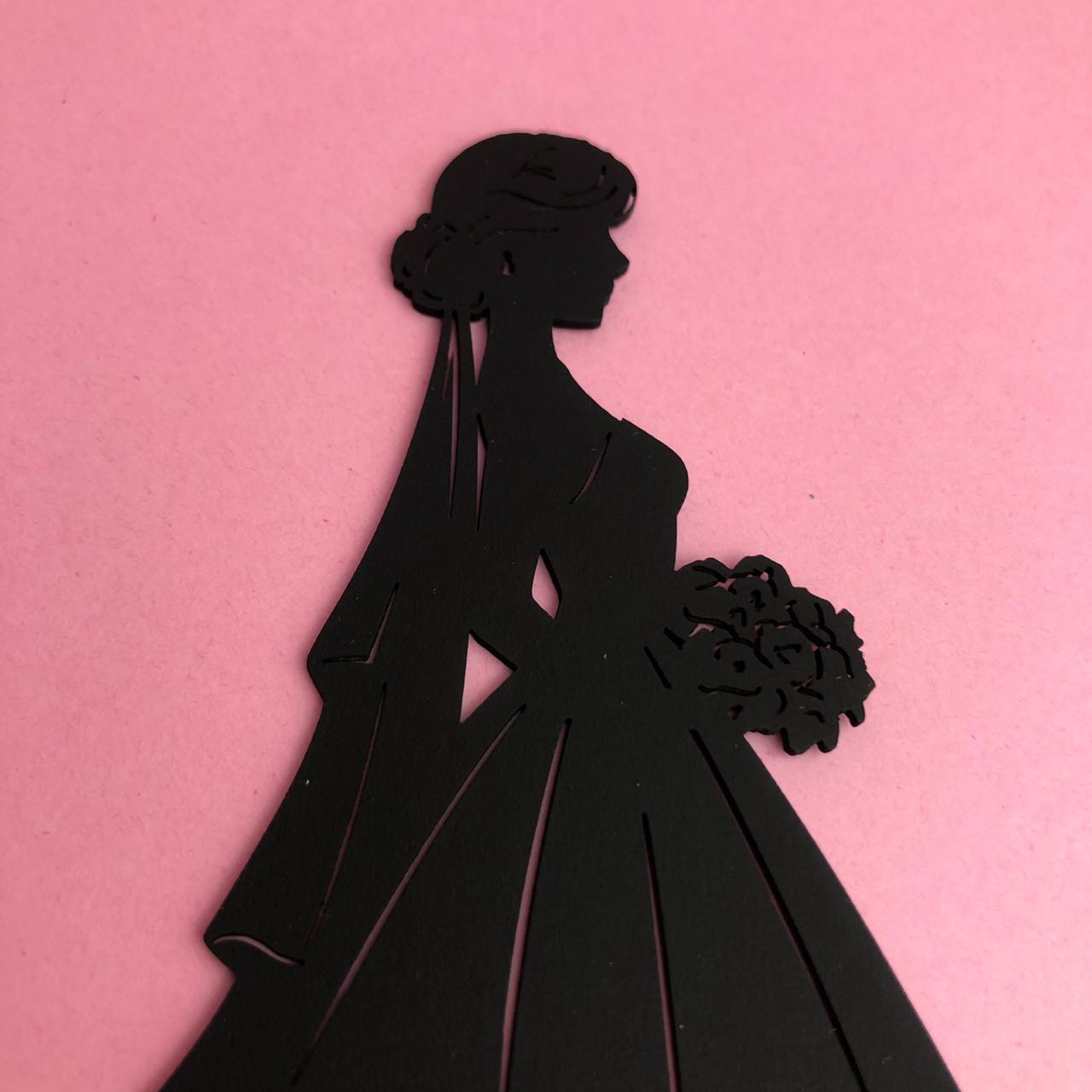 Enfeite Lovely Bride - BG Crafts (BG08)