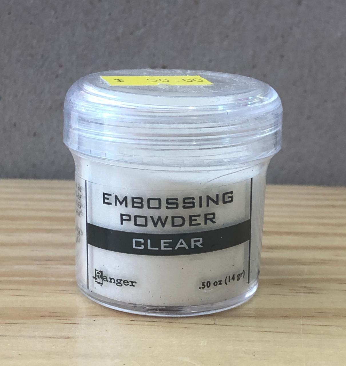 Pó para Emboss Artesanal 14g  - Clear (EPJ37330)