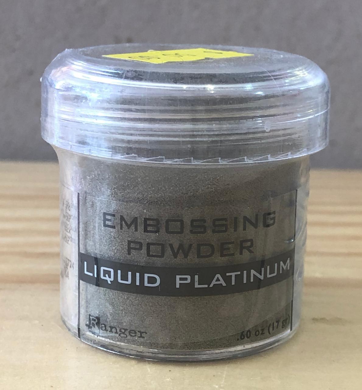 Pó para Emboss Artesanal 17g  - Liquid Platinum (EPJ37484)