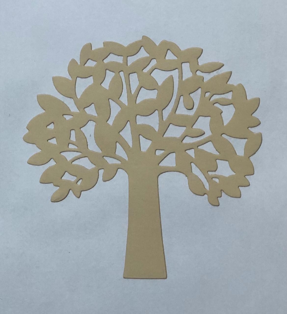 FAC025 - Faca de Corte 101 x 101 mm - Árvore
