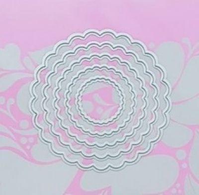 Faca de Corte - Círculos Escalope - Art e Montagem (FAC033)