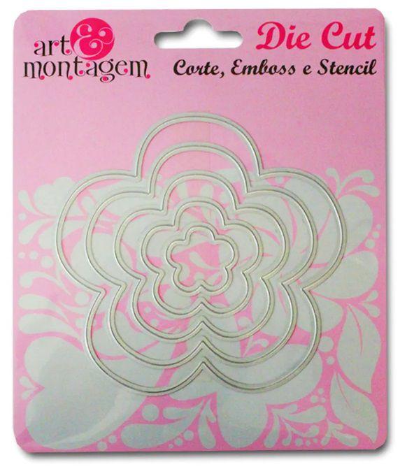 Faca de Corte - Flores - Art e Montagem (FAC034)