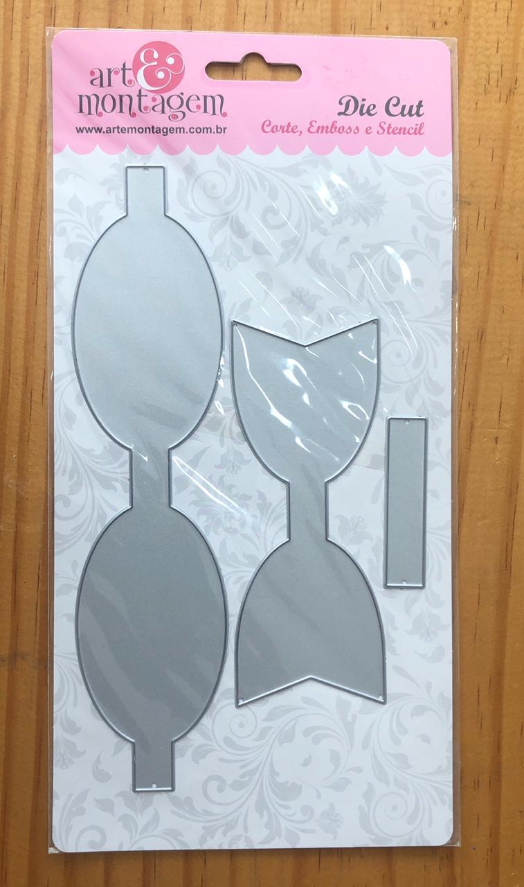 Faca de corte - Laço G (125 x 49 mm) - Art e Montagem (FAC110)